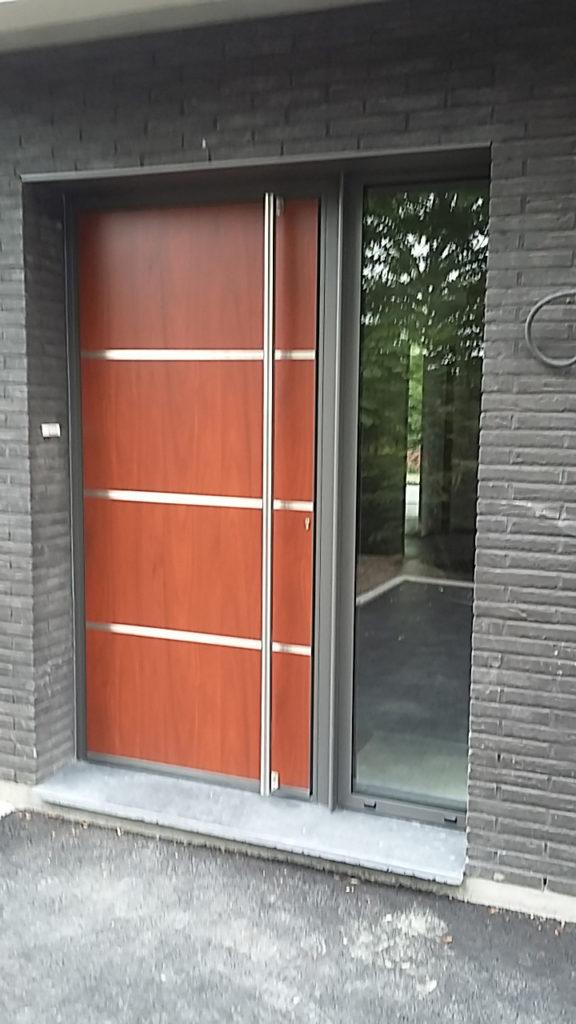 Porte d'entrée DUTHOIT Menuiseries LILLE